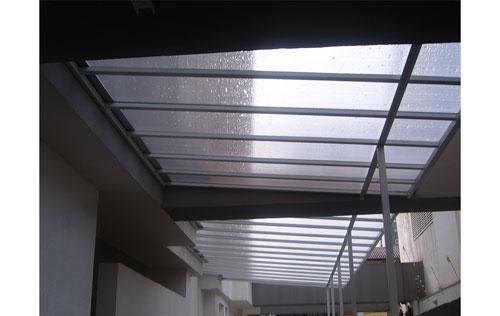 Cobertura transparente no Ibirapuera