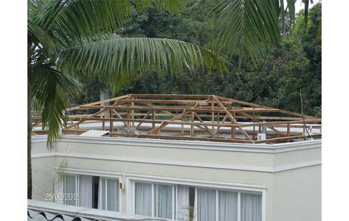 Empresa de telhados na Saúde