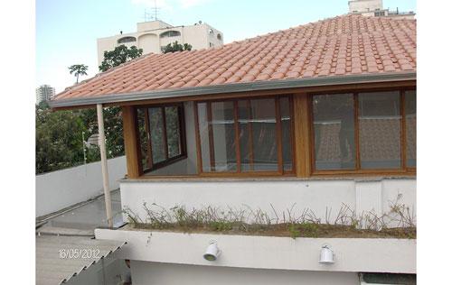 Telhados no São João Clímaco