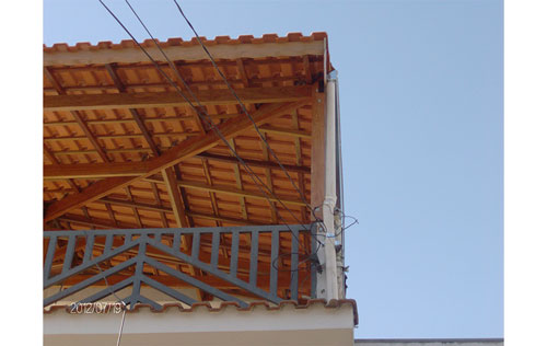 Coberturas e telhados no Jardim São Saverio