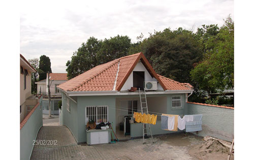 Reforma de telhados em coberturas em São Paulo
