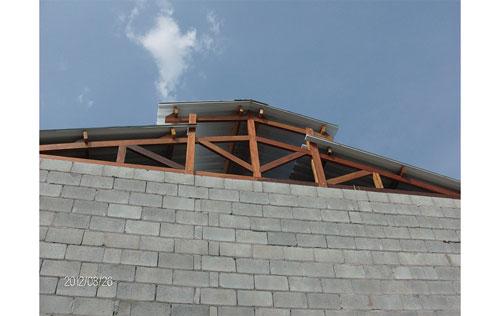 Telhados e coberturas na zona sul